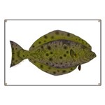 Pacific Halibut Banner