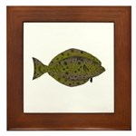 Pacific Halibut Framed Tile