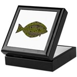 Pacific Halibut Keepsake Box