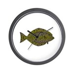 Pacific Halibut Wall Clock