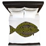 Pacific Halibut King Duvet