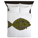 Pacific Halibut Queen Duvet