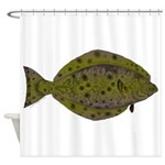 Pacific Halibut Shower Curtain