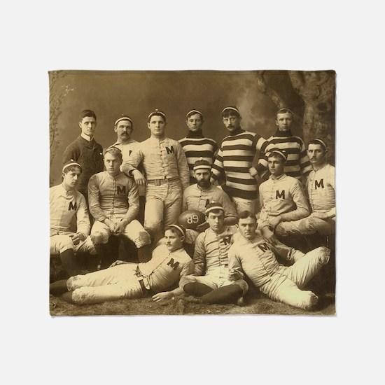 Michigan Wolverines 1888 Throw Blanket