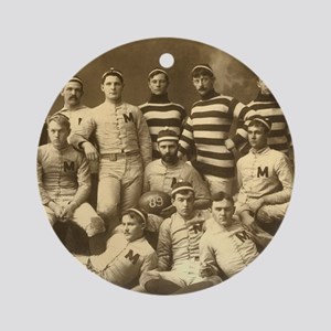 Michigan Wolverines 1888 Round Ornament