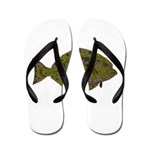 Pacific Halibut Flip Flops