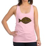 Pacific Halibut Racerback Tank Top