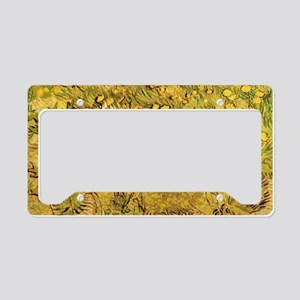 A field of Yellow Flowers, Vi License Plate Holder