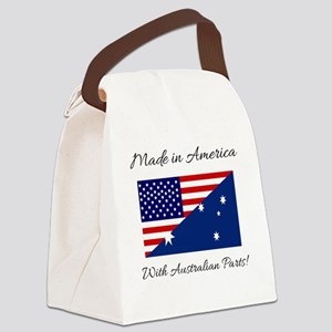 Made in America with Australian P Canvas Lunch Bag