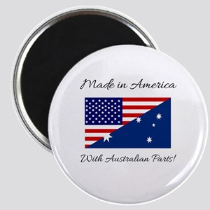 Made in America with Australian Parts! Magnet