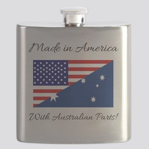 Made in America with Australian Parts! Flask