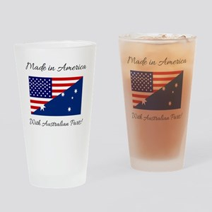 Made in America with Australian Par Drinking Glass