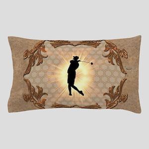 Sport, golfer Pillow Case