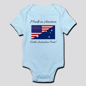 Made in America with Australian Parts! Body Suit