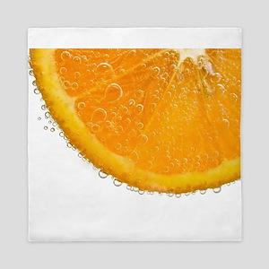 Fizzy Orange Queen Duvet