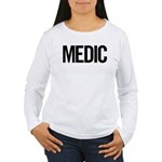 Medic (black) Women's Long Sleeve T-Shirt