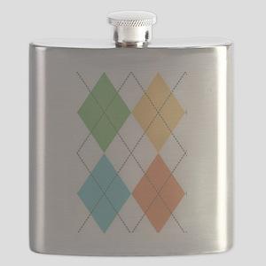Spring Argyl Flask