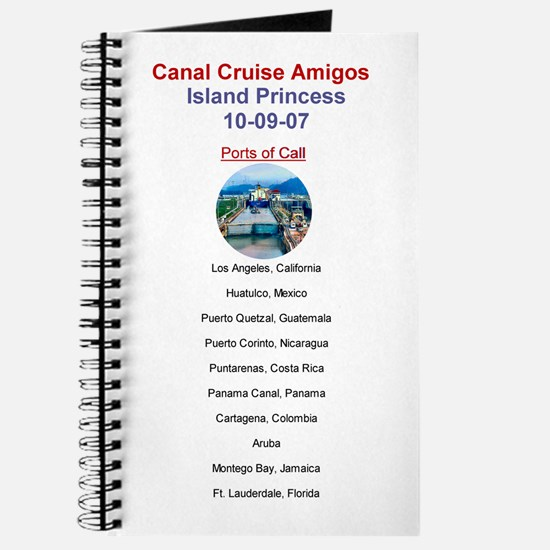 Island Princess- Canal Cruise Amigos- Journal