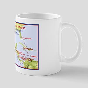 Island Princess- Canal Cruise Amigos- Mug
