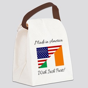 Made in America with Irish Parts Canvas Lunch Bag