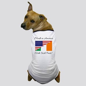 Made in America with Irish Parts Dog T-Shirt