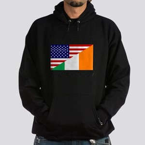 Made in America with Irish Parts Hoodie (dark)