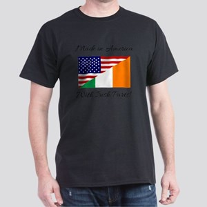 Made in America with Irish Parts Dark T-Shirt