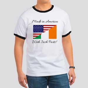 Made in America with Irish Parts Ringer T