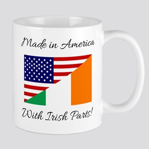 Made in America with Irish Parts Mug