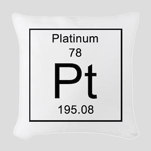 78. Platinum Woven Throw Pillow