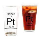 Platinum Drinking Glass