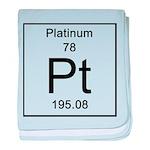 78. Platinum baby blanket