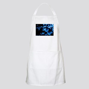 black blue jellyfish Apron