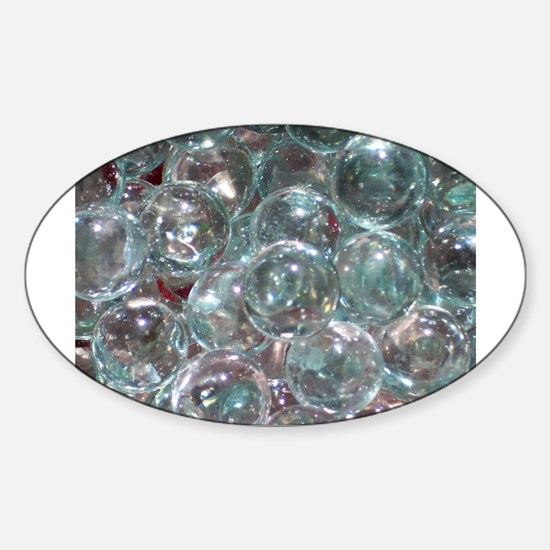 Funny See through Sticker (Oval)