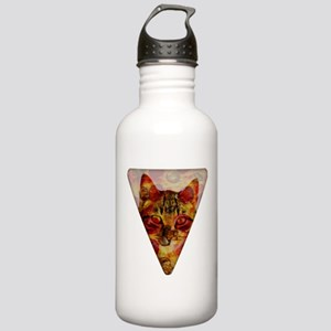 PizzaCat Slice Stainless Water Bottle 1.0L