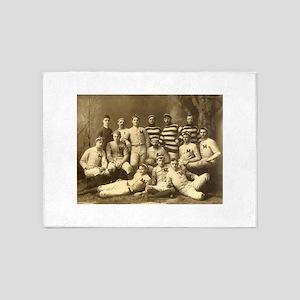 Michigan Wolverines 1888 5'x7'Area Rug