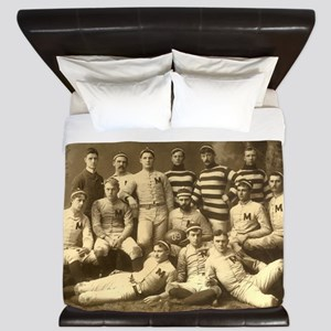 Michigan Wolverines 1888 King Duvet