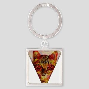 PizzaCat Slice Keychains