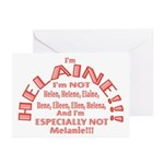 I'm Helaine 2 Greeting Cards (Pk of 20)