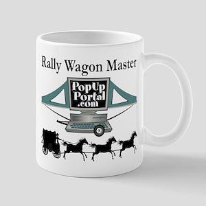 Rally Wagon Master (f) Mugs