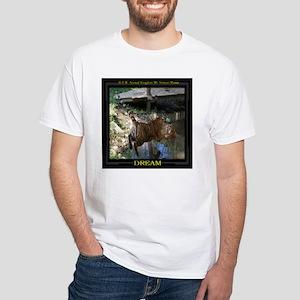 Tigers At Play White T-Shirt