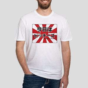 Konnichiwa Bitches 2 Fitted T-Shirt