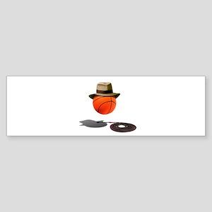 Basketball Jones Bumper Sticker