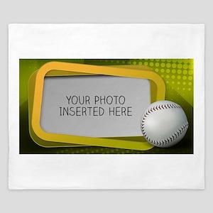 Baseball Window L King Duvet