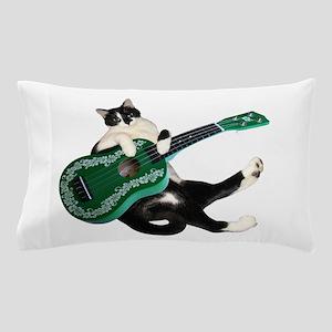 Cat Ukulele Pillow Case