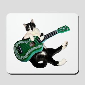 Cat Ukulele Mousepad