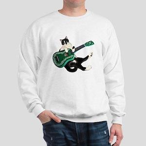 Cat Ukulele Sweatshirt