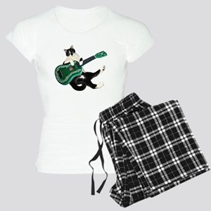 Cat Ukulele Women's Light Pajamas