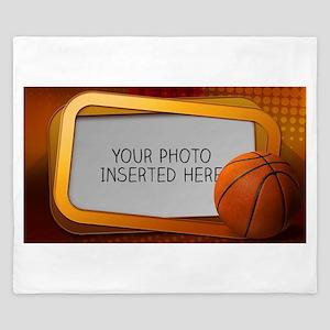 Basketball Window L King Duvet
