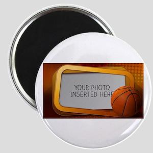 Basketball Window L Magnet